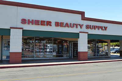 sheer beauty supply- store